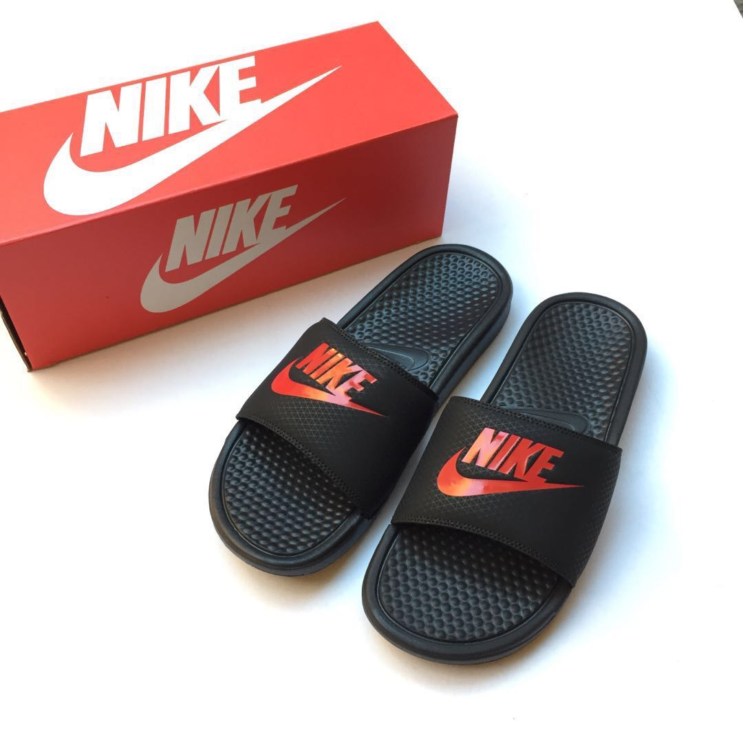19397073d3a5 New Authentic Nike Benassi Just Do It Slides Sandals