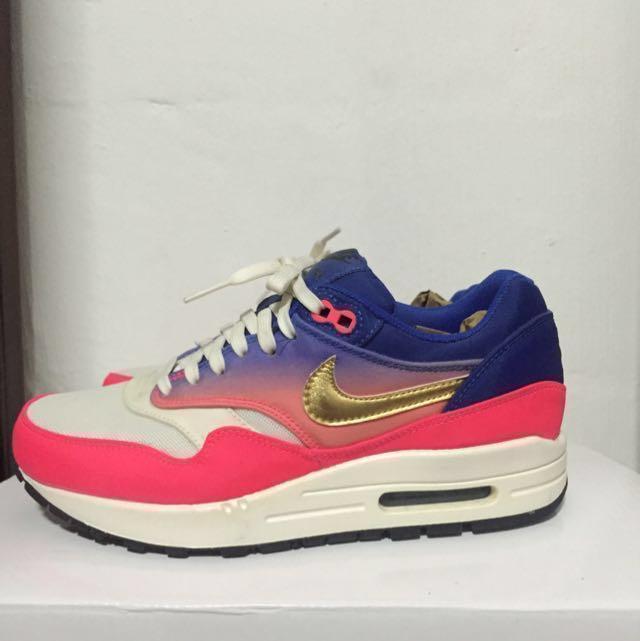 detailed look c0608 0efc8 Nike Air Max 1 Mercurial Metallic Gold, Women's Fashion, Shoes on ...