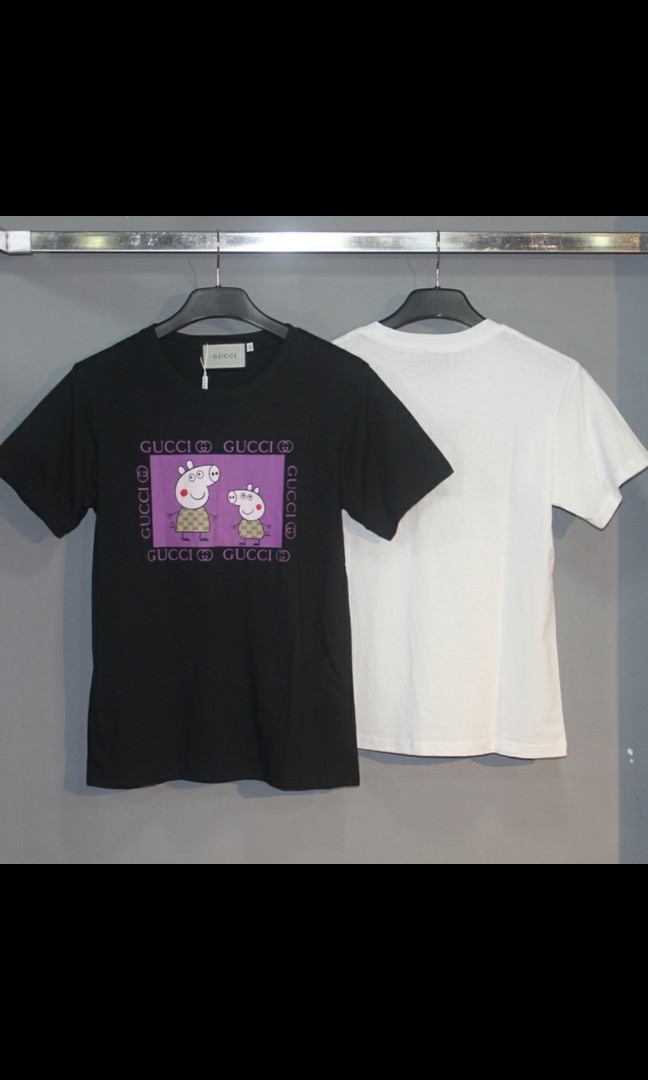 148f88bc8 Peppa pig gucci, Men's Fashion, Clothes, Tops on Carousell