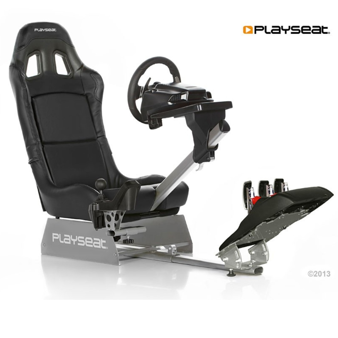 d193c56bf0b Playseat Revolution + Logitech G27 Car Racing Simulator, Toys & Games,  Video Gaming, Gaming Accessories on Carousell