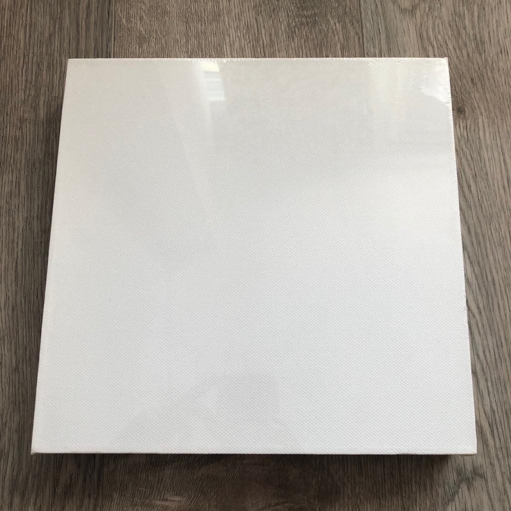 Square Plain White Stretched Canvas Board Design Craft Art Prints On Carousell