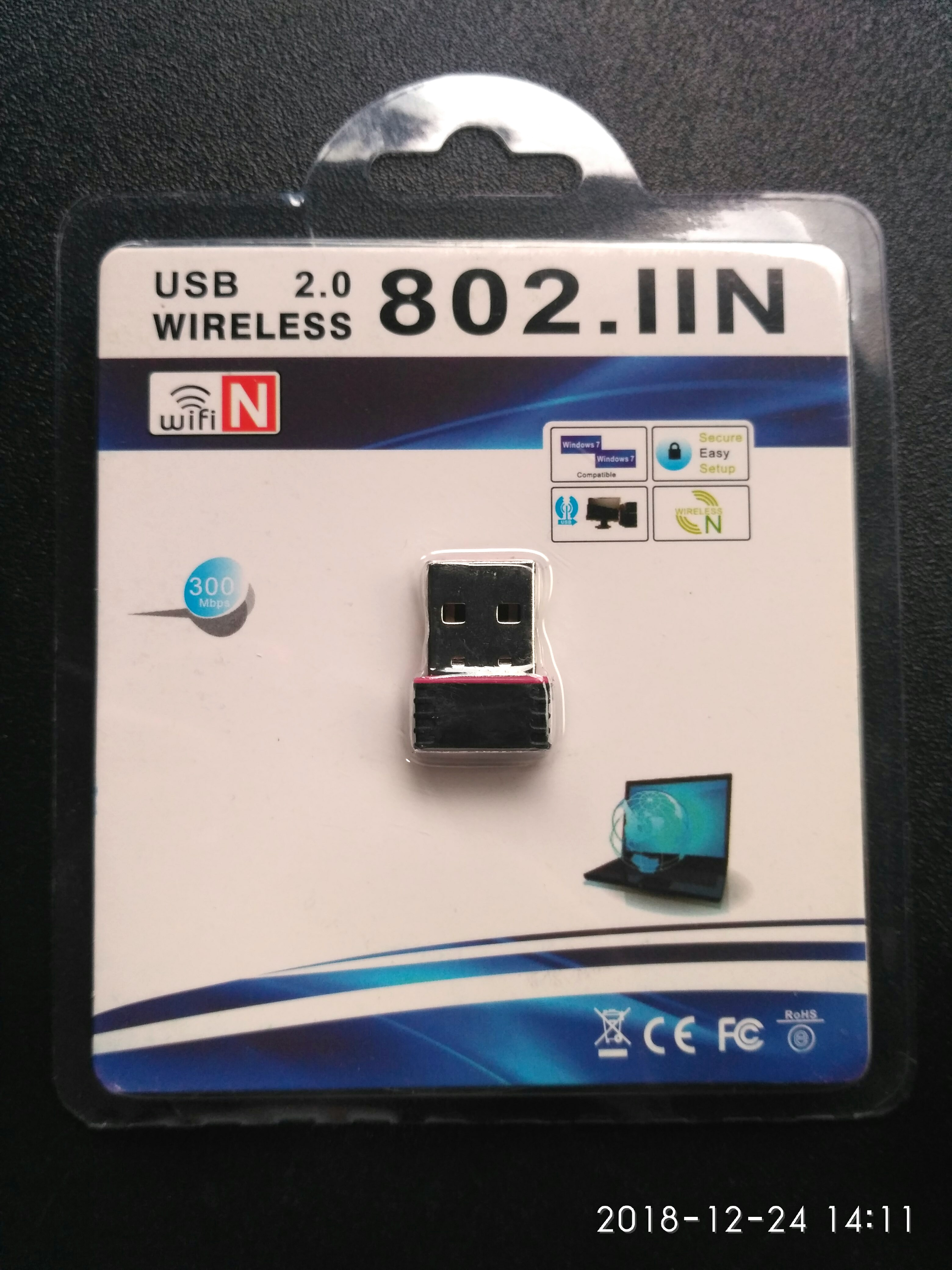 Usb Wireless WiFi 802 11n 150Mbps Adapter Card, Electronics