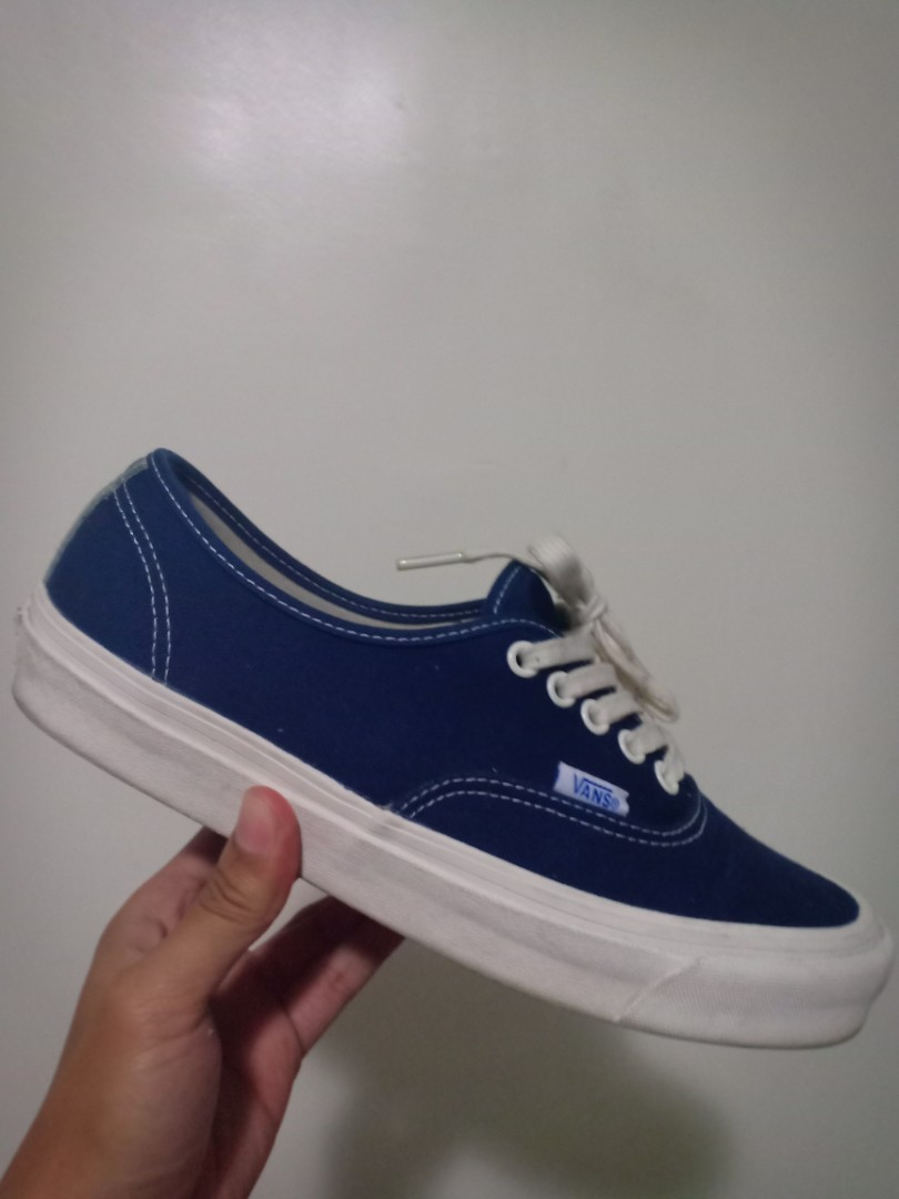 47083e9757 VANS VAULT DRESS BLUE SIZE 8.5