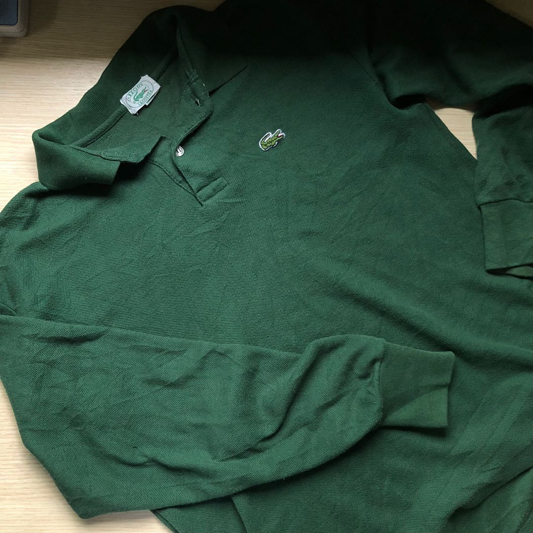 Vintage Lacoste Polo, Men s Fashion, Clothes, Tops on Carousell 6daf8a4c50
