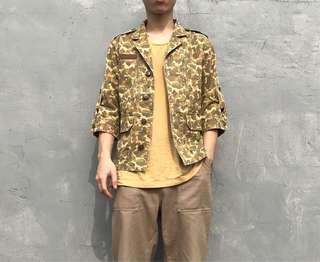 🚚 Beams迷彩半袖外套