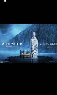 1 litre Games of Thrones Johnnie Walker Whisky