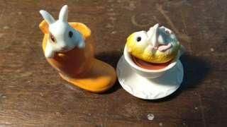 Gashapon Japan capsule toys figure rabbit