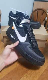 Off white air force 1 (black)