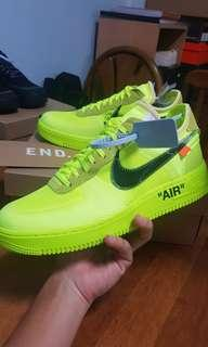 Off white air force 1 (volt)