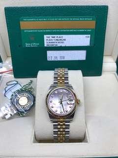 Rolex Datejust 31mm MOP Dial 2018
