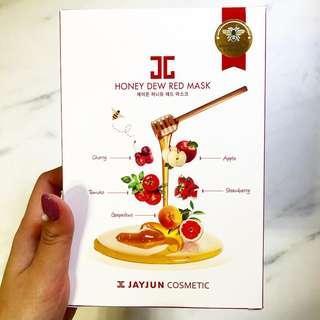 JAYJUN 蜂蜜紅果面膜 (5片裝)