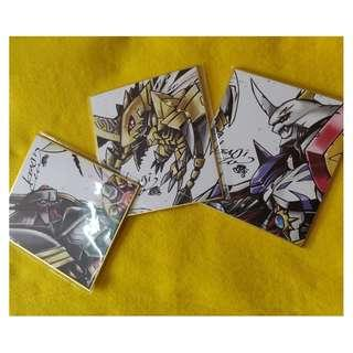 Digimon 20th Shikishi Sashimi Board