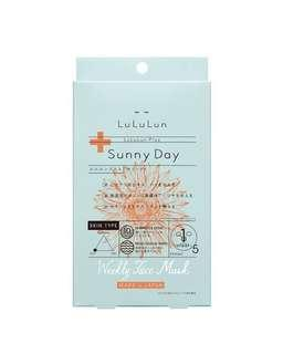 Lululun Plus Sunny Day Face Sheet Mask