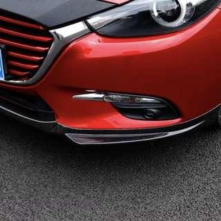 Mazda 3 Front Lip CF Print