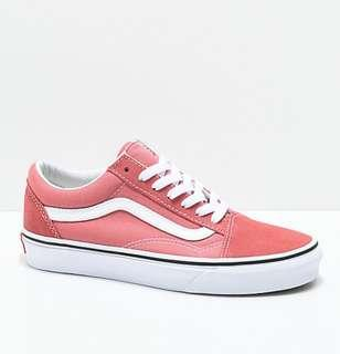 New Authentic Vans Old Skool Faded Rose