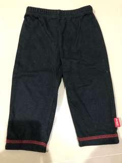 Black baby pants