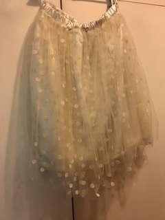 日本 🇯🇵 W Closet 波點斯文裙 紗裙