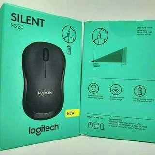 Mouse wireless logitech m220 silent