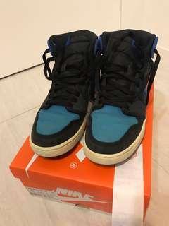 Nike AJ1 KO 黑藍 9號