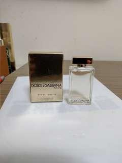 Dolce & gabbana the one 淡香精 7.5ml