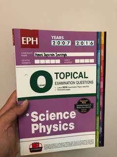 🚚 O Level Topical Physics