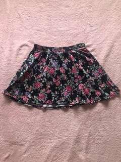 Forever 21 Floral Skirt