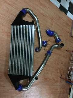 PAIPING EVO WITH INTERCOOLLER