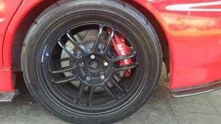 Rim rpf1 complete tyre