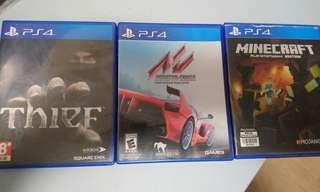 Ps4,三盒遊戲,thift,assetto,minecraft
