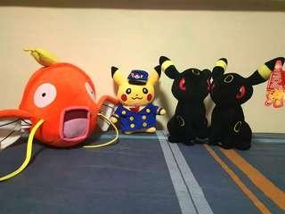 🚚 Pokemon stuffed toys