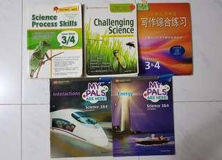 P3 / 4 Textbooks and Assessment Books
