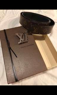 Louis Vuitton Monogram Belt Size 32-36