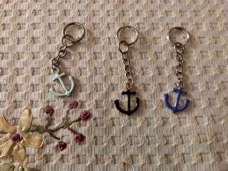 Keychain Cute Anchor Charm