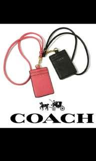 Coach 證件夾 掛脖式 VIP滿額禮