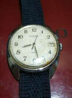 Vintage Russian Wostok date watch