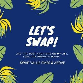 Let's swap!