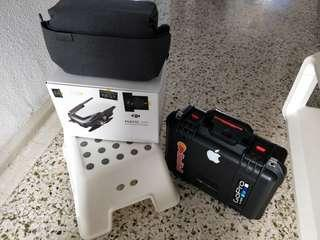 """Dji Mavic Air Fly More Combo With 4 Batteries//Now asking for the whole set at """"""""""""""""""""""""$1K sgd nett and firm!!"""""""""""""""""""""""" Call or whatsapp if ONLY you're Comfortable with my selling price 🙏🙏🙏"""