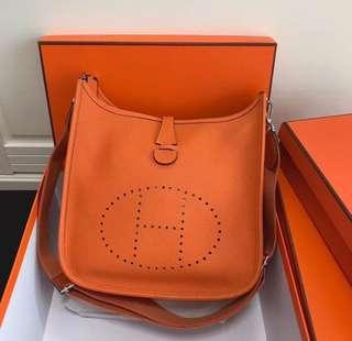 Hermes Evelyne Orange