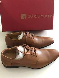 BN Borse Mogan men's shoe with Ecco Leather goods kit set