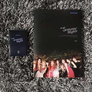[UNSEALED] Twice Summer Nights Album (C Ver.) + Poster