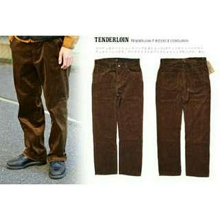 Tenderloin T-Riders Corduroy Pant