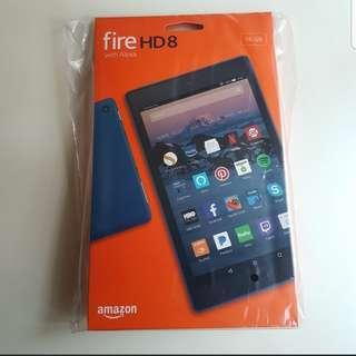 (Free eBooks) New Sealed 2018 Fire HD8 Tablet Blue Colour
