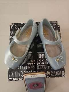 Mini melissa ultragirl ballet blue size US 8