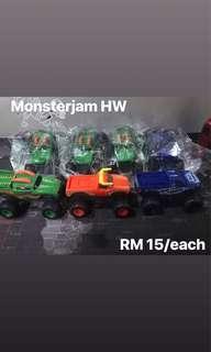 Monster jam Hot wheel