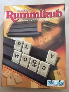 99%新正版rummikub word voyager