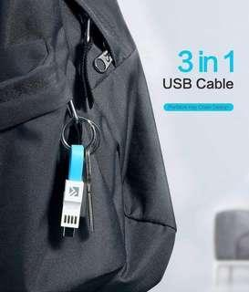 101% Original Keychain Bag Design Universal Charger