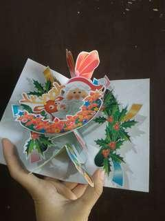 Pop Up Cards Merry Christmas