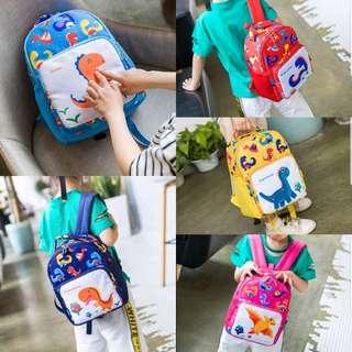 School Bag| Nursary Bag | Dinosaur | Dino