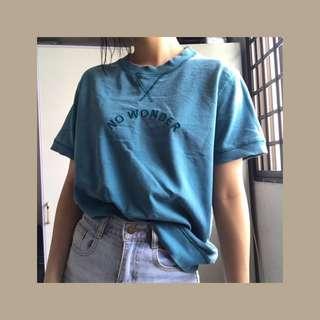 Vintage teal T-shirt