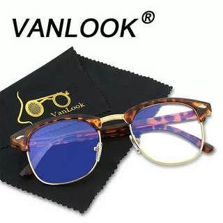e506c16a58 Computer Glasses Transparent For Women Men Spectacle Frame Anti Blueray  Clear Fashion Eyeglasses Oversize